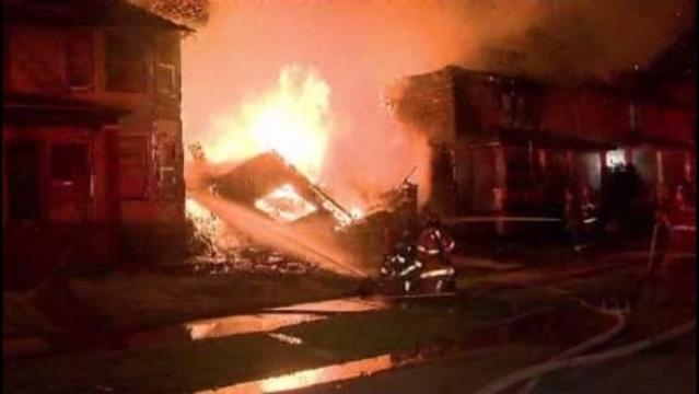 Allendale fire scene1