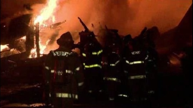 Allendale fire scene2