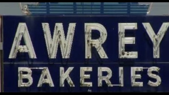Awrey Bakeries sign