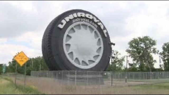 Big Tire on I94