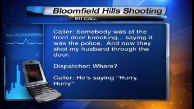 Bloomfield Hills shooting 911 pretape