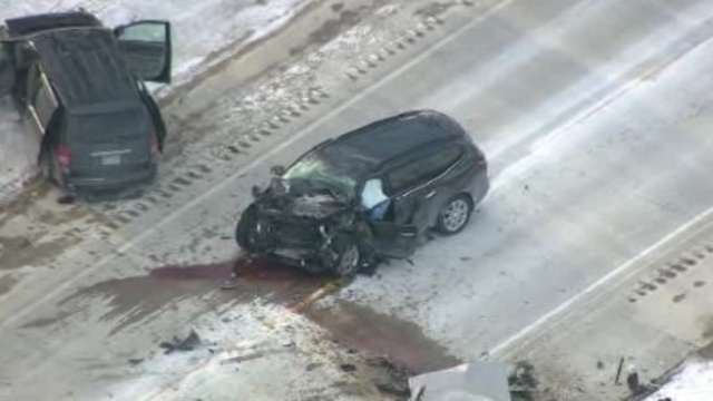 Bruce Township crash 1