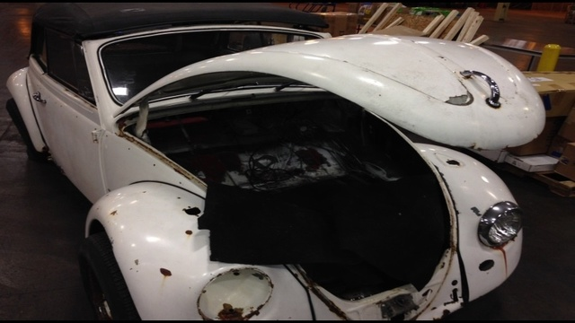 CBP Detroit Recovers Stolen 65 VW Bug