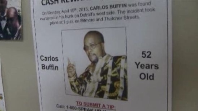 Carlos Buffin Crime Stoppers poster