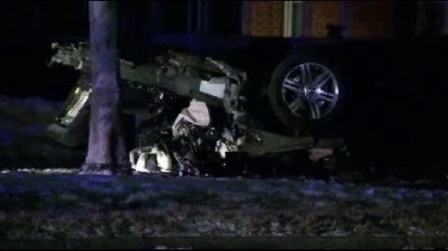 Chalmers crash scene