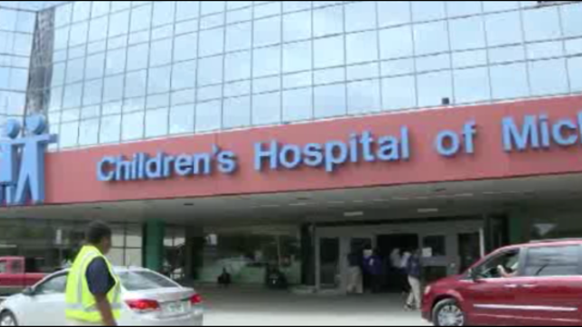 Children's Hospital sign