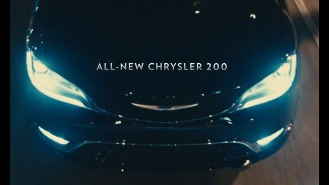 Chrysler 200 super bowl commercial