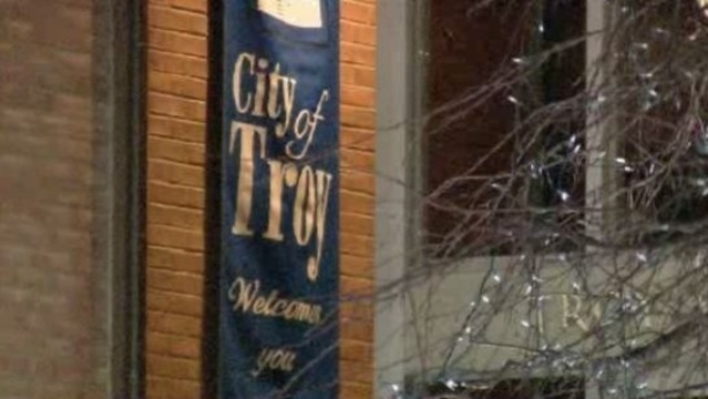 City of Troy welcomes you banner