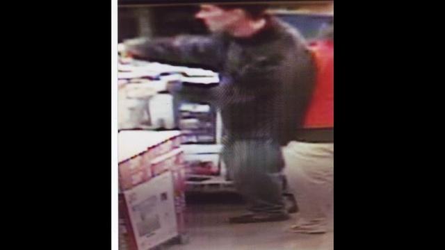 Costco attempted TV thief
