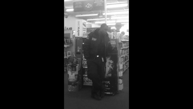 Courtney Meeks in CVS