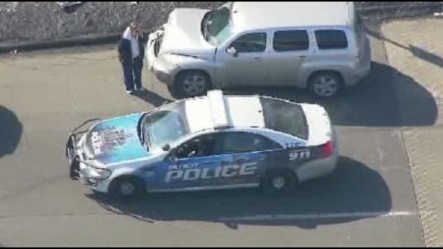 DFD Southfield crash scene