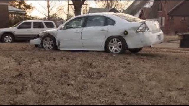 Detroit carjacking crime spree scene1