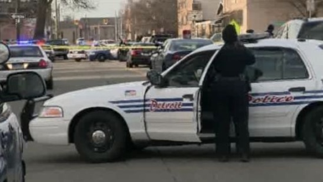 Detroit police officers shooting
