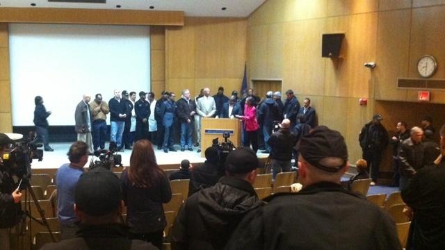 Detroit police shooting presser 1