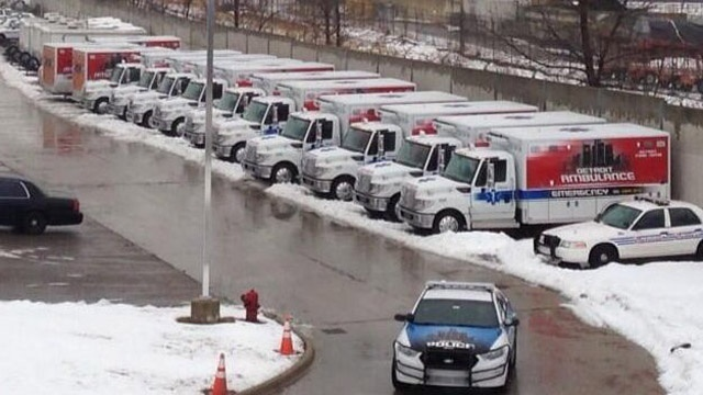 Donated Detroit EMS rigs sit unused