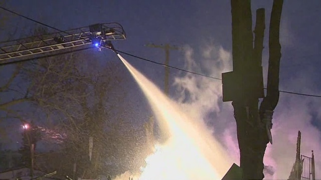 Fire crews busy on Thanksgiving