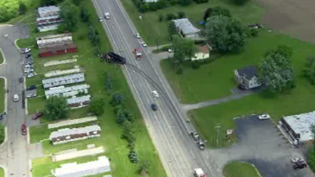 Frenchtown Township truck car crash 6