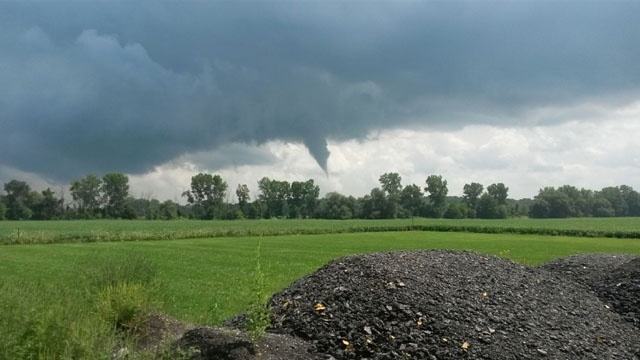 Funnel cloud Macomb County