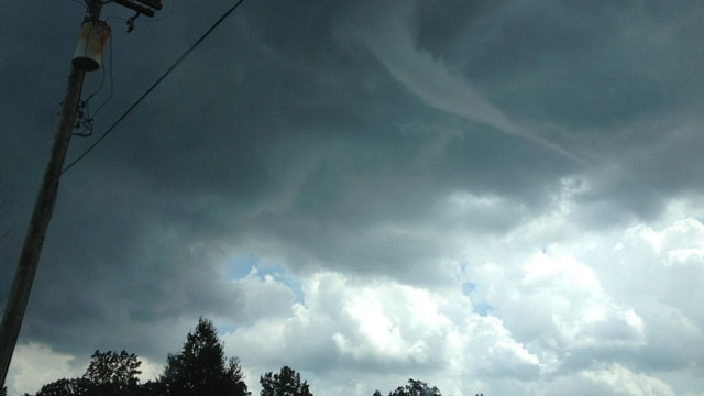 Funnel cluoud Lennox Township 1