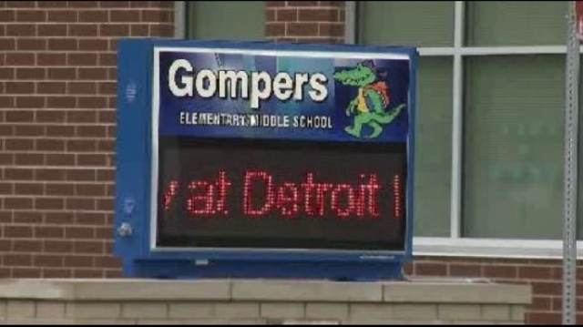 Gompers Elementary in Detroit