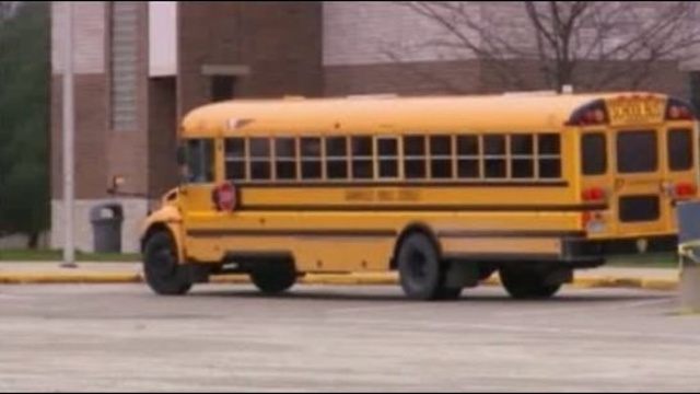 Grandville school buses