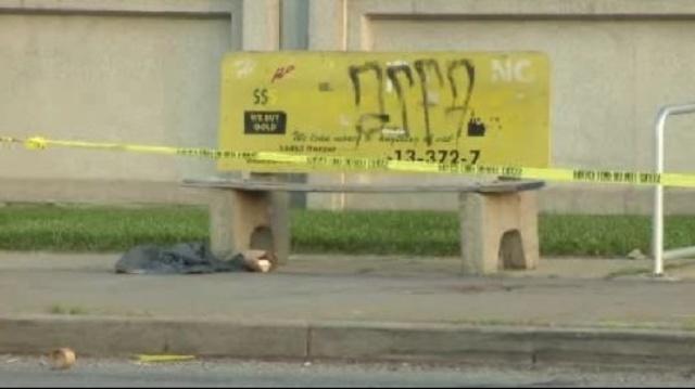 Harper and Morang bus stop shooting scene