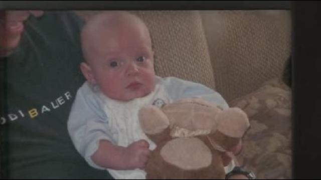 Hayden as baby