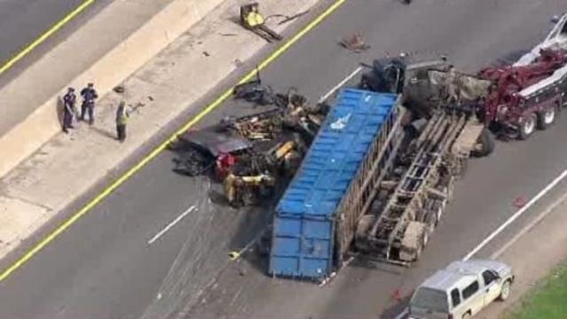 I-75 truck crash 1