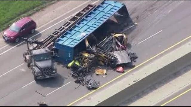 I-75 truck crash 4