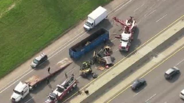 I-75 truck crash 7