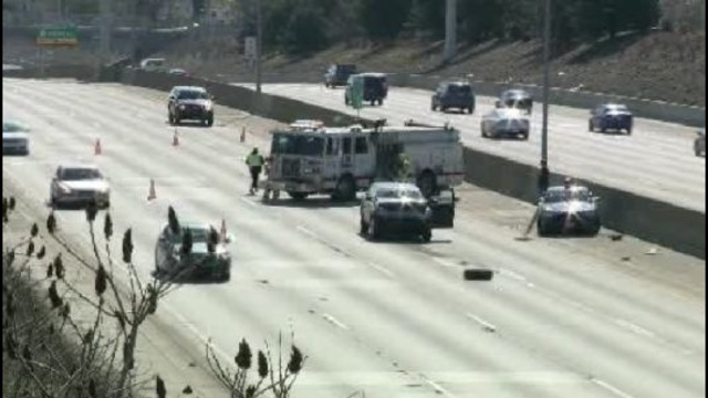 I696 Warren accident scene
