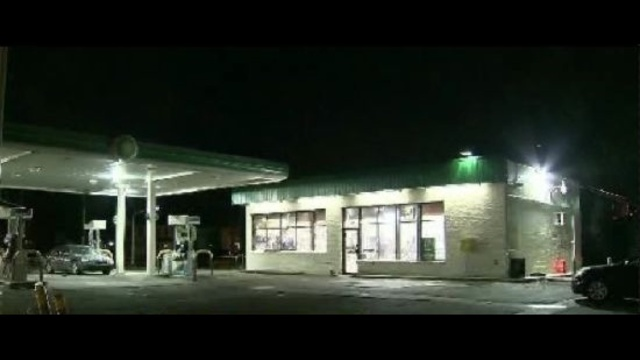 Image: Gas Station Shooting Causes Tension