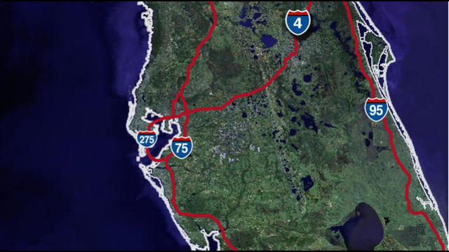Interstates in Florida