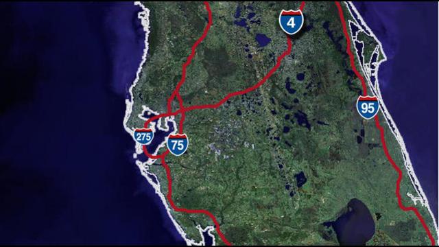 Interstates in Florida