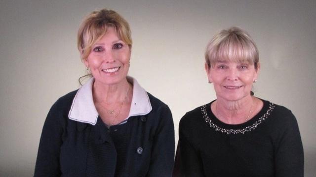 Jacqui White and Cheryl Davis