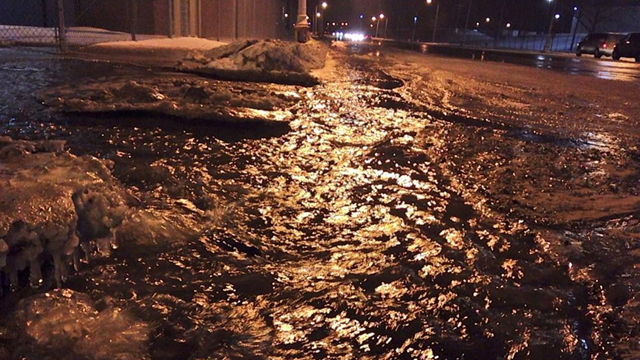 Jefferson Avenue main break