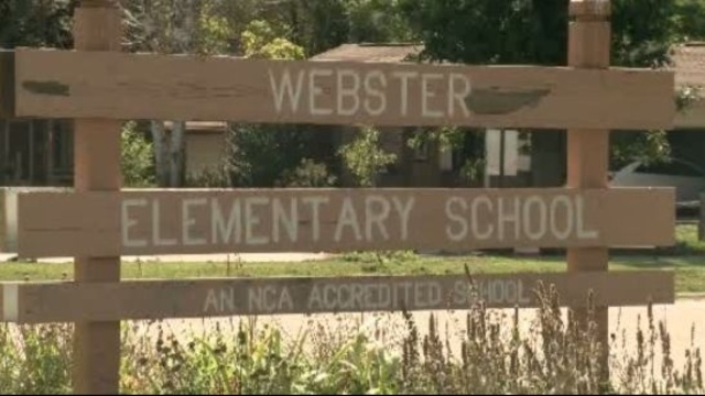 Livonia Webster Elmentary School sign