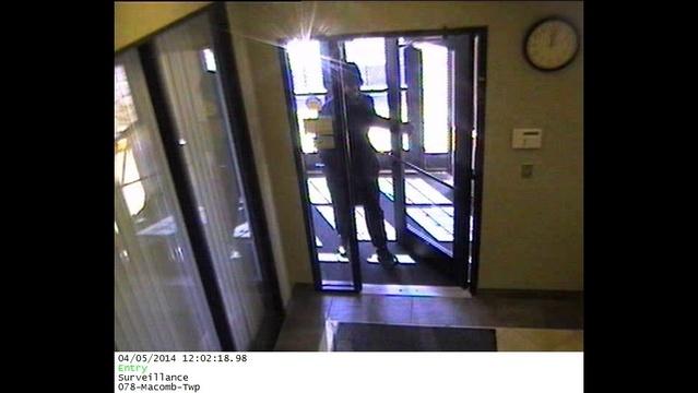 Macomb Township Flagstar Bank robbery1