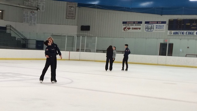 Meryl Davis Charlie White training 3