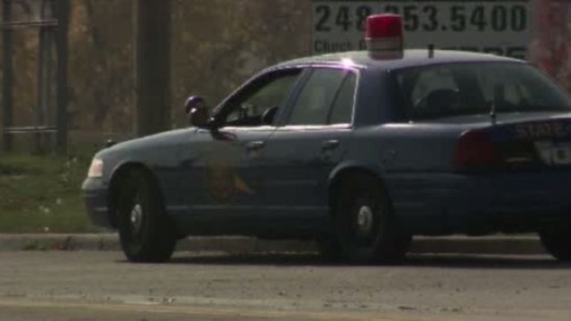 Michigan State Police work on roadway shootings