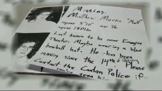 Morse missing poster