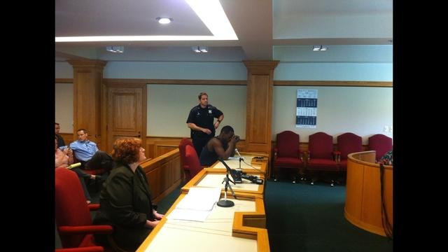 Myron Tyronne  Williams in court