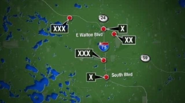 Oakland County BB gun shootings at cars