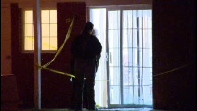 Pontiac apartment shooting scene