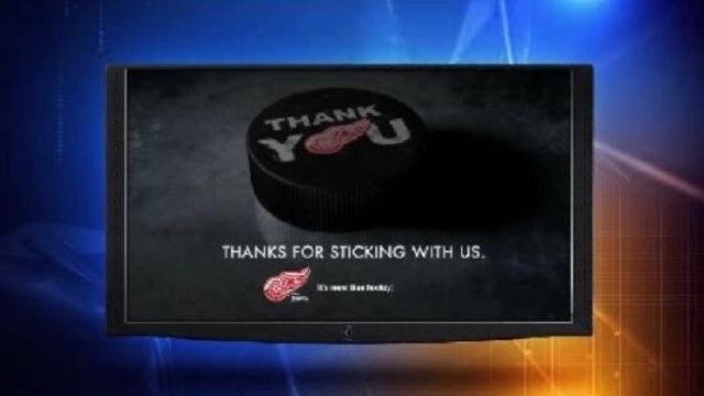 Red Wings commerical image