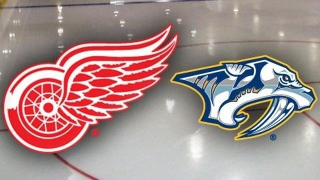 NHL Hockey Detroit Red Wings vs. Nashville Predators