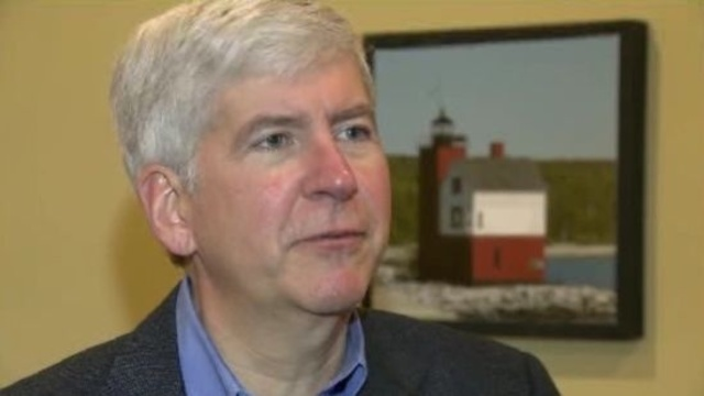 Rick Snyder on Wayne County finances