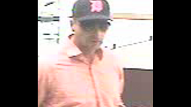 Roseville Bank robber front June 7