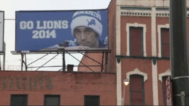 Sad Lions fan billboard 1
