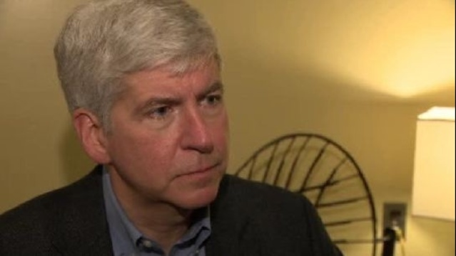 Snyder interview on gun laws